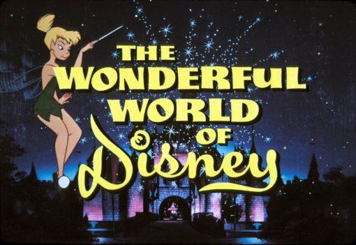 The Wonderful World of Disney logo featuring Tinkerbell