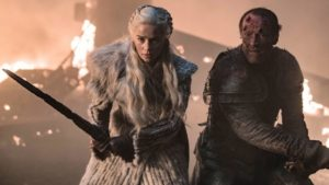 Daenerys and Jorah fight to the end